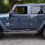 "Jeep Wrangler JKU 2"" Lift and Stock Wheels"